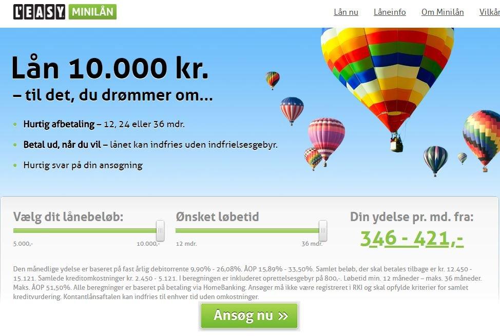 minilaan.leasy.dk