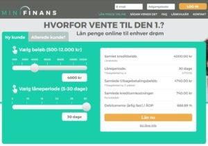 mini anmeldelse af minifinans.dk